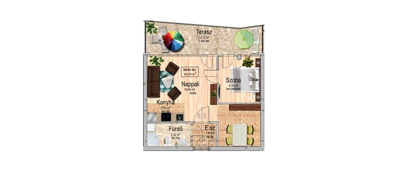 A épület, III. emelet 7