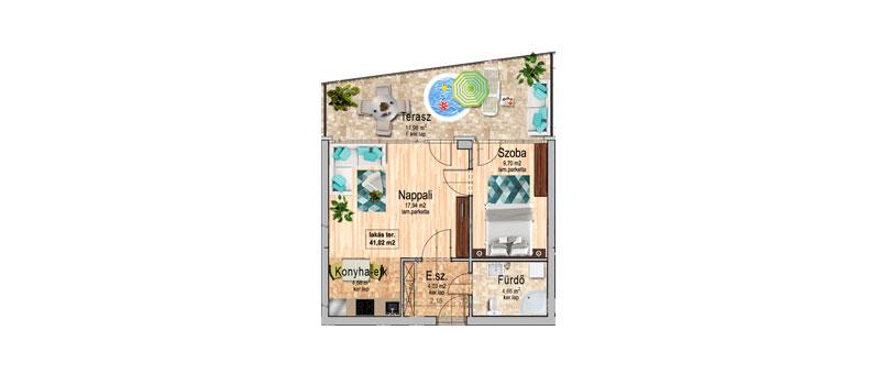 A épület, III. emelet 8
