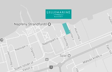 Lelle térkép